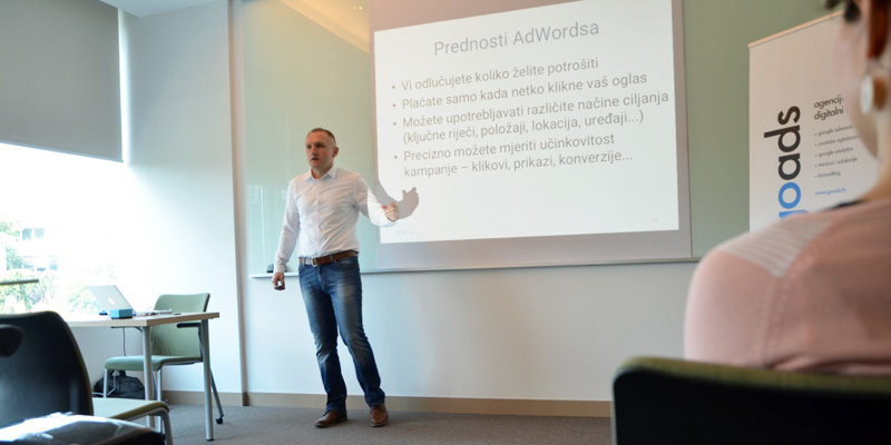 Raspored nadolazećih Google AdWords i Google Analytics seminara